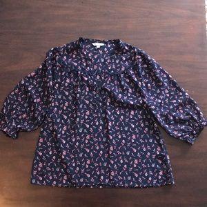 Rubbish floral blouse- Size M